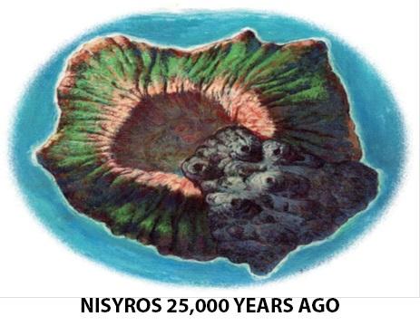 nisyros mythology 25000yearsago