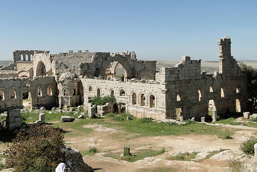 syria church saint symeon stylitis