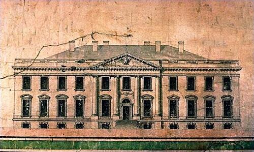 white house 1792