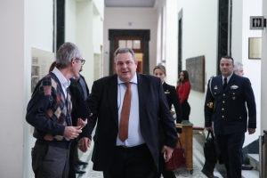 Panos Kammenos; Πάνος Καμμένος; Βουλή; parliament; statements;
