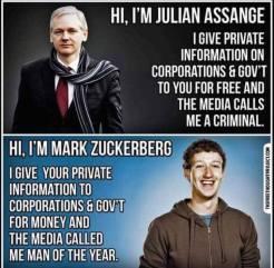 Με τον λαό ή την Ελιτ = Assange VS Zuckerberg = Προμυθεύς ή Εφιάλτης;