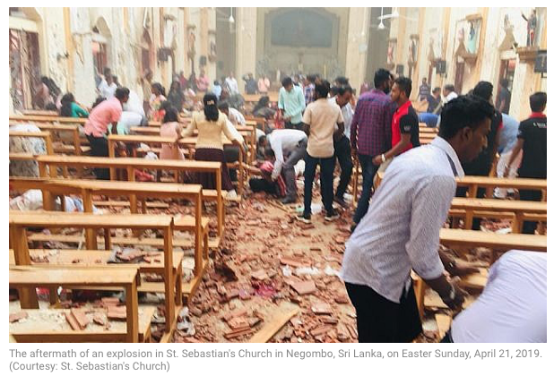❌[GRAPHIC FOOTAGE] Death toll rises to 165 dead in #SriLanka's Christian Church #IStandWithSriLanka #SriLankaAttacks