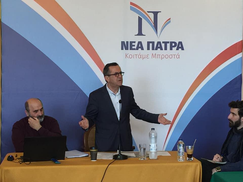 Νίκος Νικολόπουλος: Με τη ΝΕΑ ΠΑΤΡΑ, όσο καθαρά και τακτοποιημένα είναι τα σπίτια μας, θα είναι και η πόλη!