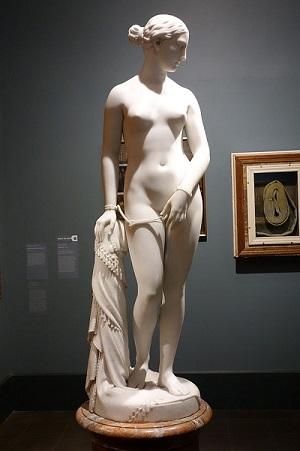 """Η γυμνή """"Ελληνίδα Σκλάβα"""" ήταν το διασημότερο γλυπτό του 19ου αιώνα στην Αμερική"""