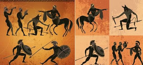 Αρχαία παιχνίδια: Η μετά ράβδων παιγνική συμβολή