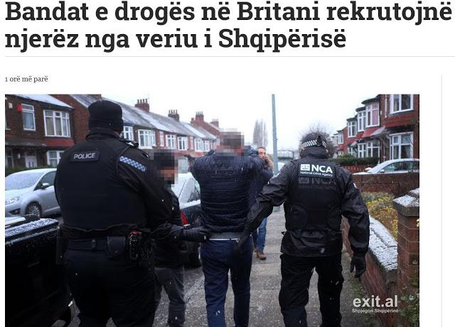 Η αλβανική μαφία των ναρκέμπορων κατακτά τη Μεγάλη Βρετανία