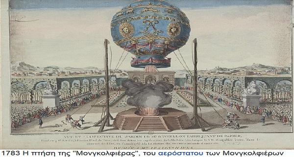 Αδελφοί Μονγκολφιέ -Οι εφευρέτες του αερόστατου
