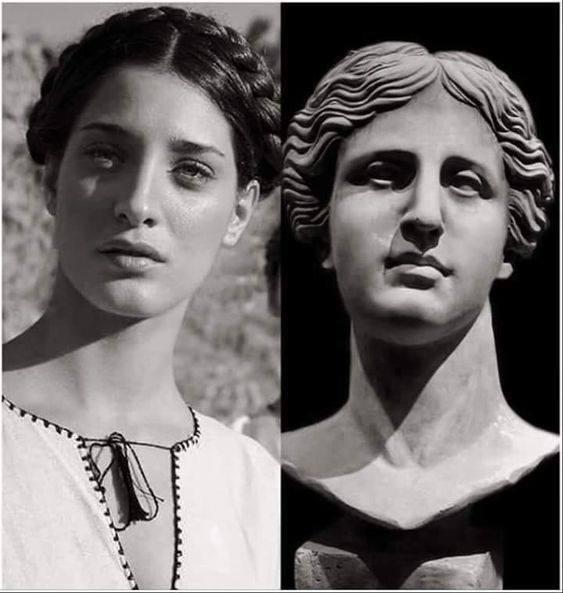 Η Ελληνική ομορφιά είναι διαχρονική....💙💙💙🇬🇷🇬🇷🇬🇷