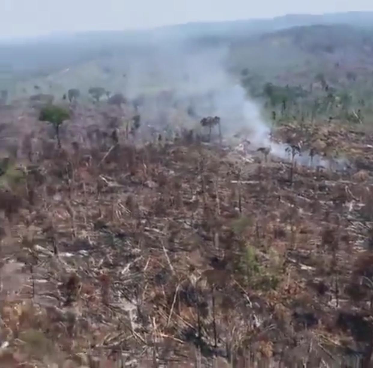 Προκαλεί πάλι ο ελεεινός Μπολσονάρου: Δεν έχουμε λεφτά να σβήσουμε τις φωτιές στον Αμαζόνιο!