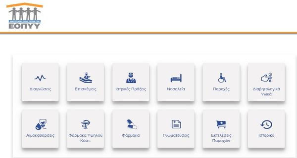 Φάκελος Ασφάλισης Υγείας ΕΟΠΥΥ -Πως μπορείτε να δείτε τον προσωπικό φάκελο υγείας σας