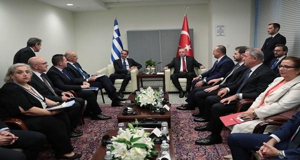 Ο Μητσοτάκης έβαλε τους Γερμανούς ως διαιτητές με την Τουρκία να μας λένε σήμερα ότι η Ελλάδα έχει σκληρέςθέσεις;