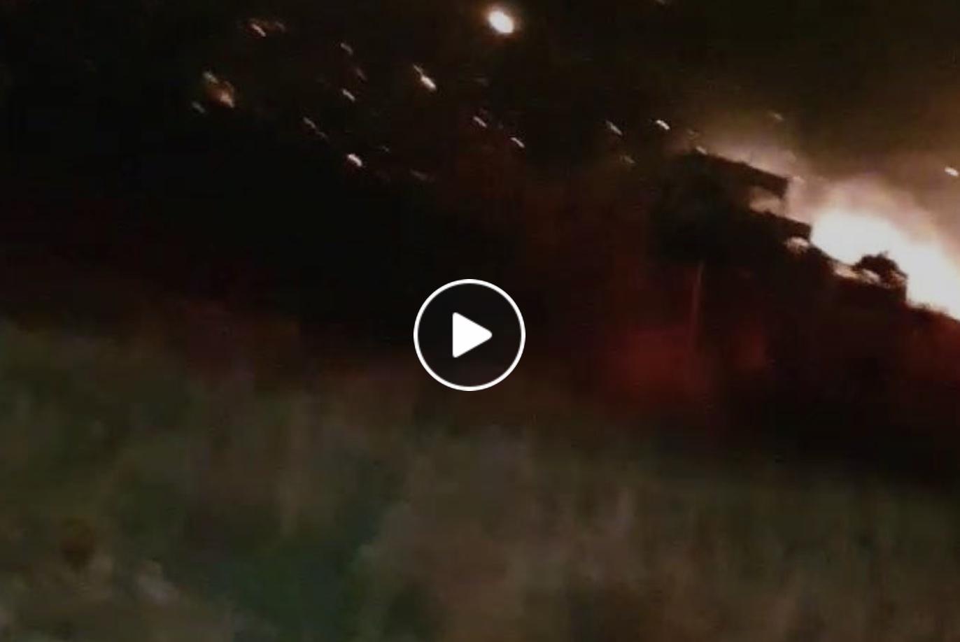 Βιντεο από την φωτιά στο Πόρτο Ράφτη.