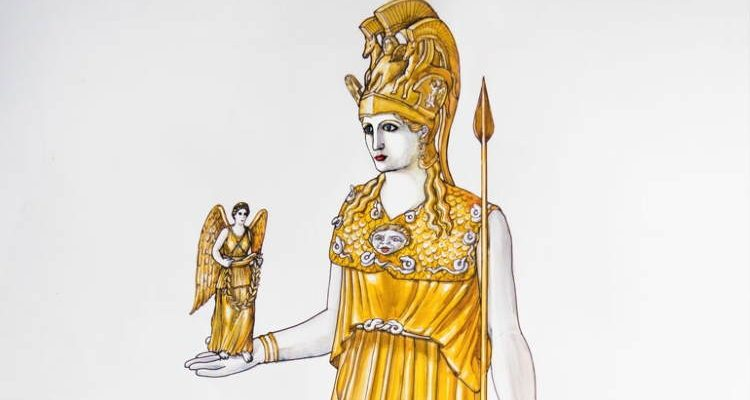Το χαμένο χρυσελεφάντινο άγαλμα της Αθηνάς θα «ζωντανέψει» στο Μουσείο της Ακρόπολης.
