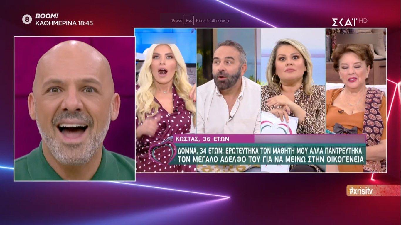 Η κατάντια της ελληνικής τηλεόρασης.