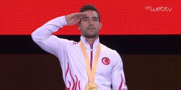 Προκαλούν οι Τούρκοι αθλητές στις μεγάλες αθλητικές διοργανώσεις.