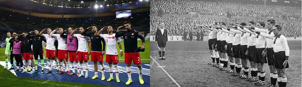 #UEFA stays silent on Turkish fascist propaganda letting history repeat itself @UEFA @FIFAcom