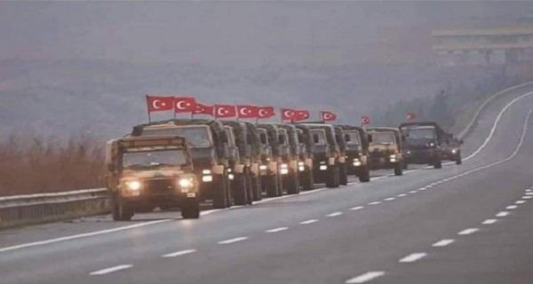 Επτά λεωφορεία γεμάτα με Τούρκους κομάντος οδεύουν προς Συρία