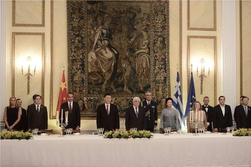Προκόπης Παυλόπουλος: Ελλάδα και Κίνα διεκδικούν την ιστορική προοπτική που τους αναλογεί.