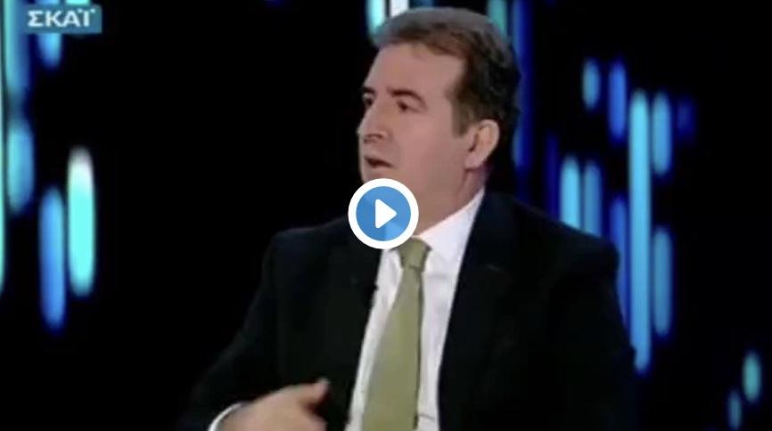 Χρυσοχοϊδης: Ο Φωτοπουλος της ΔΕΗ είναι φίλος μου. Το ήξερε αυτό ο Μητσοτάκης όταν τον έκανε υπουργό;