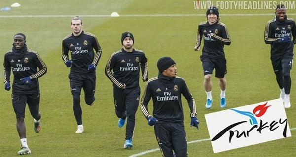 Η Τουρκία θα διαφημίζεται στην προπονητική φανέλα της Ρεάλ Μαδρίτης!