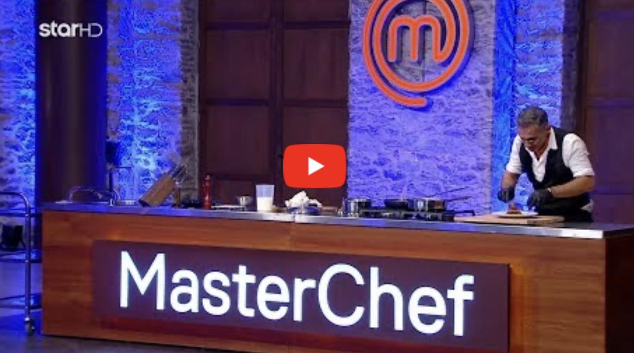 Κατέρρευσε παίχτης μπροστά στους κριτές του Master Chef.