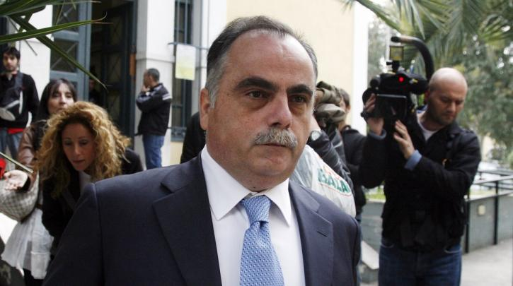 Σκάνδαλο Siemens: Αποφυλακίστηκε ο Μαυρίδης για λόγους υγείας.