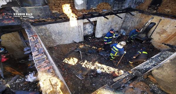 Αργολίδα: Εντοπίσθηκαν τα οστά από τα δυο αδέλφια που κάηκαν στο σπίτι τους (βίντεο)