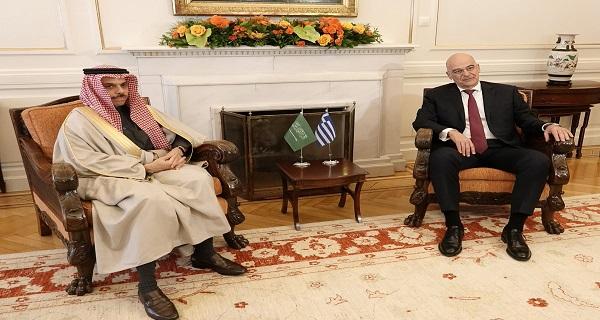 Κοινή θέση Ελλάδας- Σ.Αραβίας: Τα τουρκολιβυκά μνημόνια είναι άκυρα και ανύπαρκτα