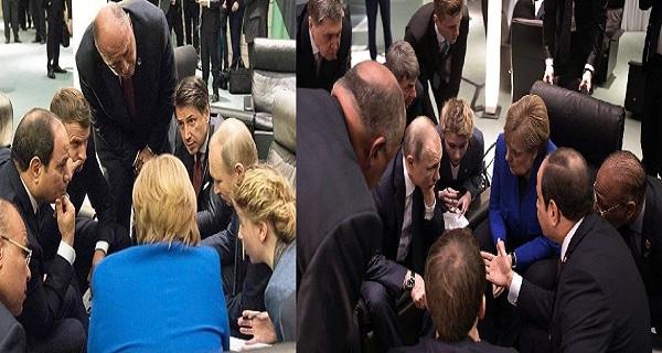 """Όποιες αποφάσεις ελήφθησαν για τη Λιβύη, ελήφθησαν σε αυτό το """"πηγαδάκι""""… #Libya"""
