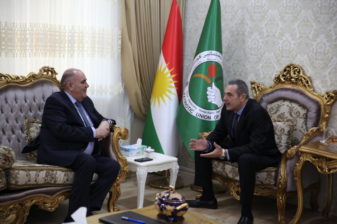 Pira confirms continuation of cooperation between Kurdistan Region, Greece. @panoskammenos