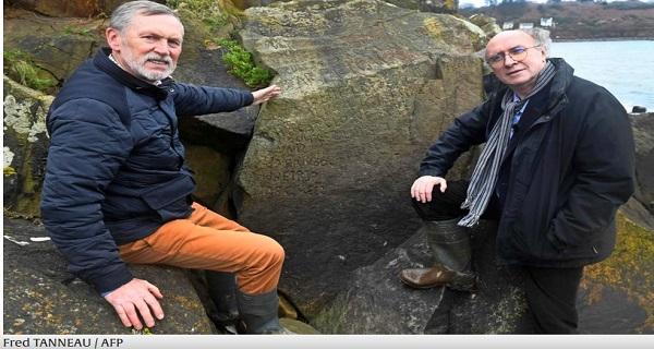 Αποκρυπτογράφηση μυστηριώδους επιγραφής αιώνων σε πέτρα στη Γαλλία