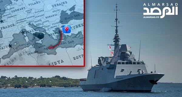 Γαλλική φρεγάτα παρεμπόδισε πλοίο με τουρκικά όπλα που κατευθυνόταν στη Λιβύη