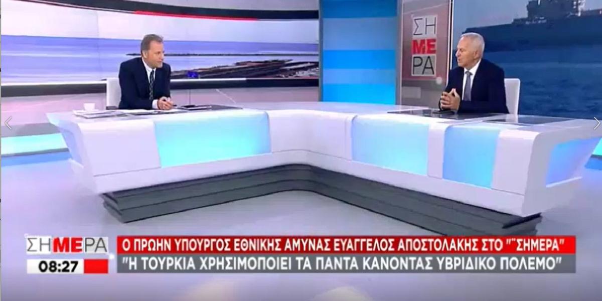 """Αποστολάκης για Υβριδικό Πόλεμο: """"Επιμένω στην ισοπέδωση βραχονησίδας αν ανέβουν Τούρκοι"""" [ΒΙΝΤΕΟ]"""