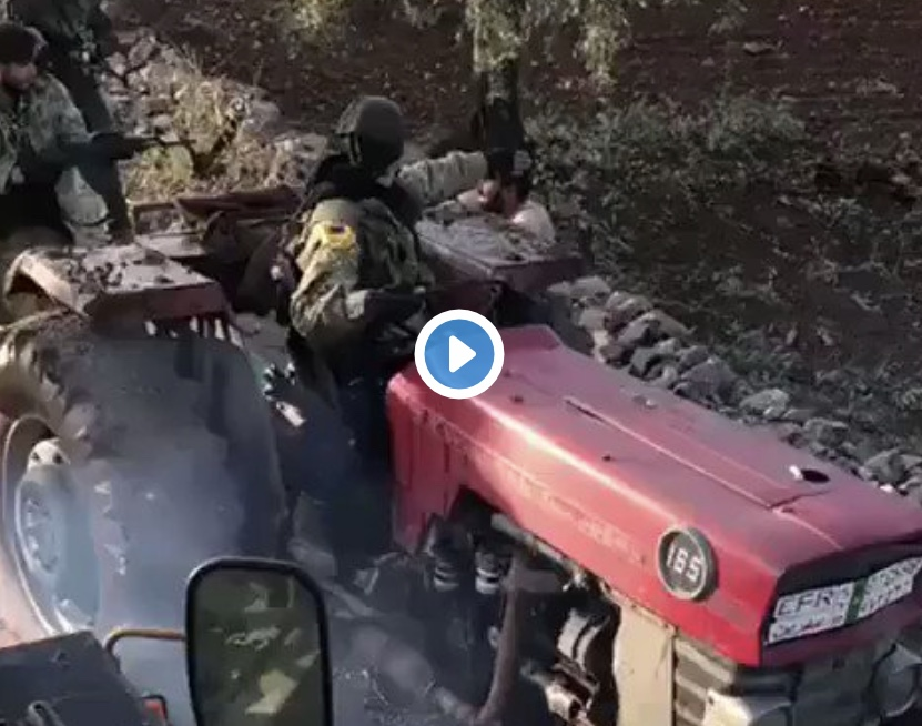Τούρκοι παραστρατιωτικοί δολοφονούν αγρότη αφού του κλέβουν το τρακτέρ! (Βιντεο).