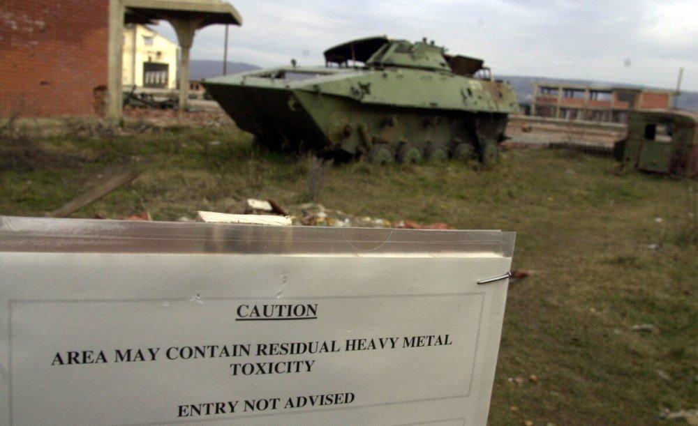 Γαλλικό δικαστήριο: Άνθρωποι πεθαίνουν από ακτινοβολία απεμπλουτισμένου ουρανίου στο Κοσσυφοπέδιο.