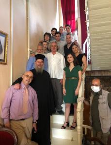 Η τελετή αποφοίτησης της 12ης τάξης του Ελληνικού Σχολείου Ίμβρου.