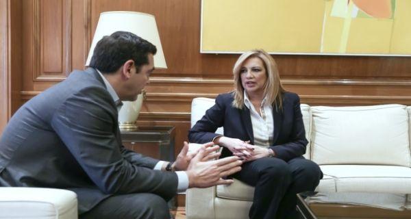 Αποκάλυψη: Σε ανοιχτή γραμμή με τον ΣΥΡΙΖΑ η Γεννηματά