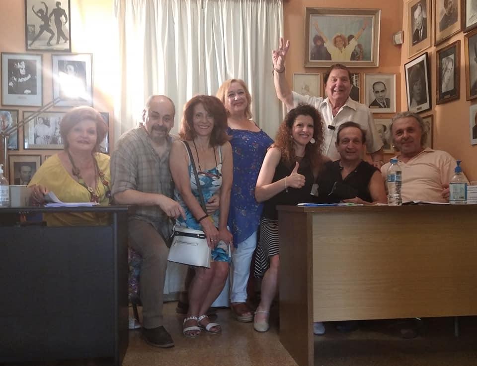 Ταμειο Αλληλοβοήθειας Σωματείου Ελλήνων Ηθοποιών (ΤΑΣΕΗ). Αποτελέσματα εκλογών.