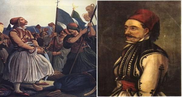 Γκούρας και Ευμορφόπουλος σαν άλλοι Μιλτιάδηδες σάρωσαν τους Τούρκους στη Μάχη του Μαραθώνα (1824)