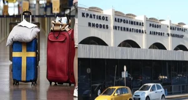 Πως δικαιολόγησε ο Θεοχάρης το μπάχαλο στη Ρόδο με την πτήση από Σουηδία που είχε τουρίστες αντί για δημοσιογράφους!