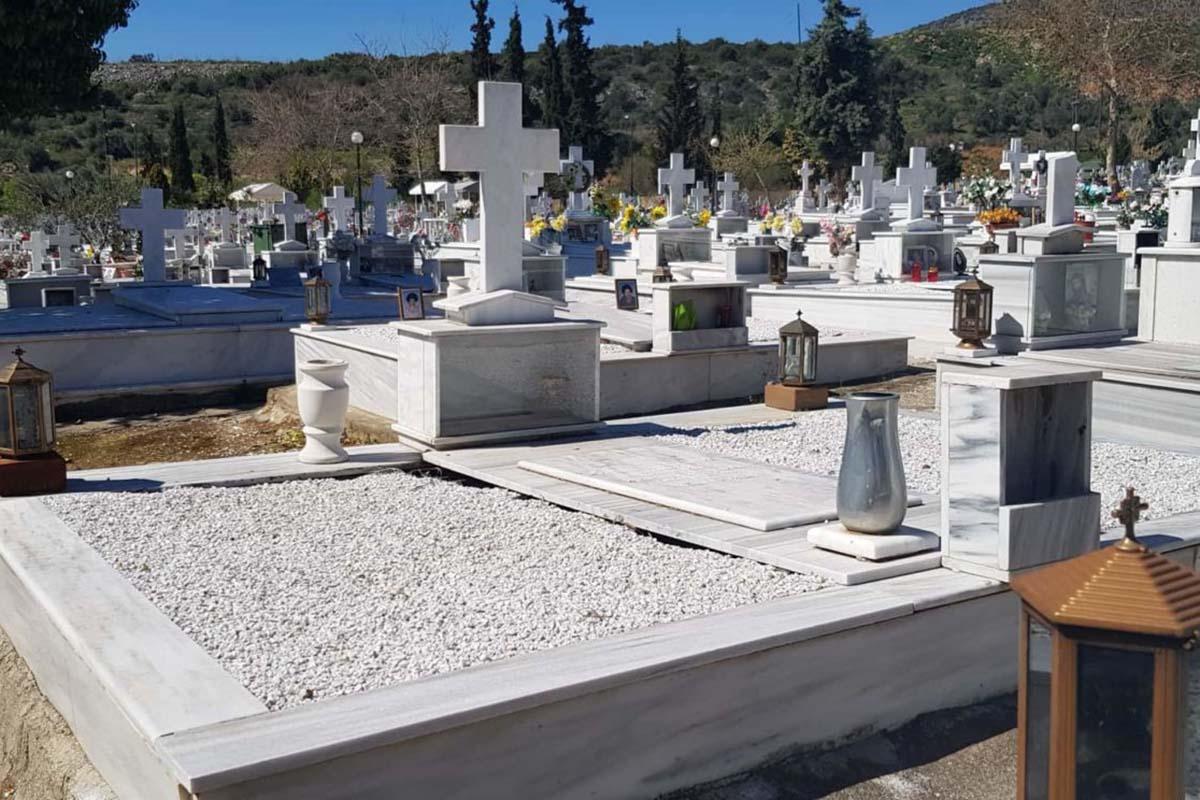 Στην Ελλάδα του 2020. Κλέβουν ακόμη και τα καντήλια από τους ταφους.