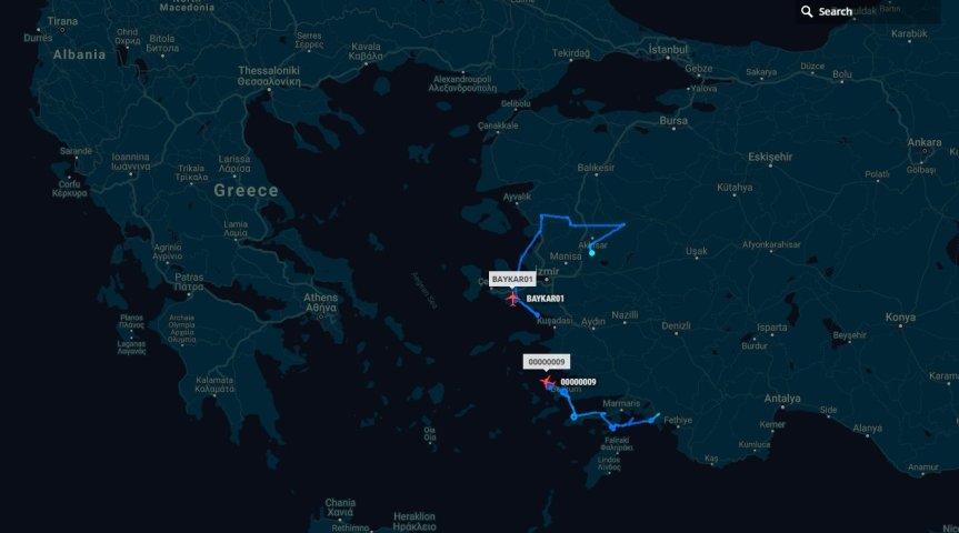 Τώρα – δύο τούρκικα μη επανδρωμένα πάνω από τοΑιγαίο