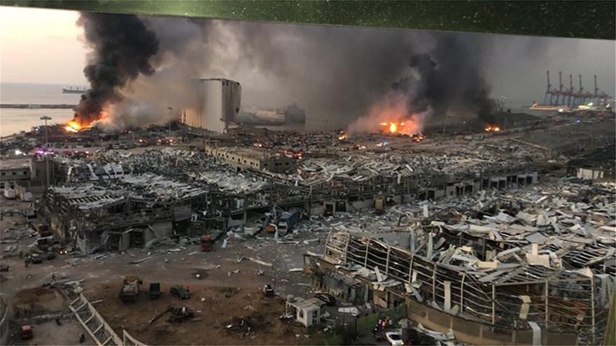 Βηρυτός. Ραγίζει η καρδιά σου να βλέπεις παντού ερείπια. Φωτογραφίες της πόλης μετά την καταστροφή.