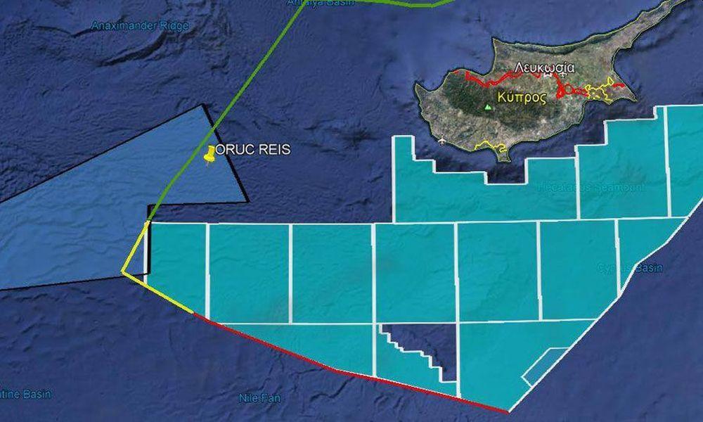 Ο πιο καυτός Μεσογειακός Αύγουστος. Στην κυπριακή ΑΟΖ το Oruc Reis μαζί με 10 τουρκικά πολεμικά.