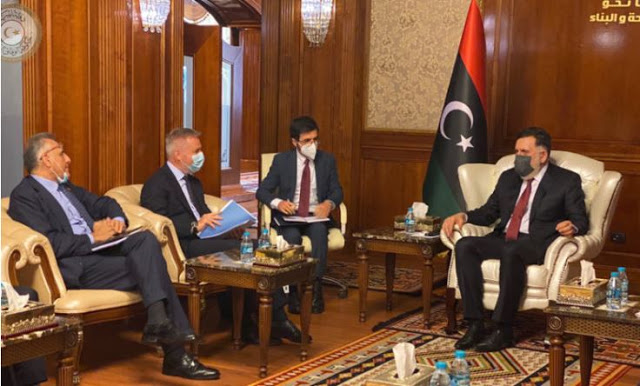 Λιβύη: Συνάντηση του υπουργού Άμυνας της Ιταλίας με τον Αλ Σάρατζ. Τι είπαν.