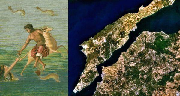 Ο μύθος του Φρίξου και της Έλλης – Έτσι πήρε το όνομά του ο Ελλήσποντος